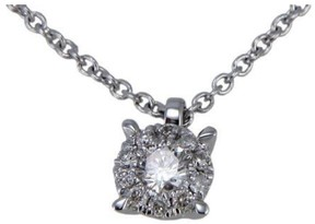 Damiani Bliss by 18K White Gold Illusion Diamond Necklace