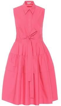 DELPOZO Sleeveless cotton dress
