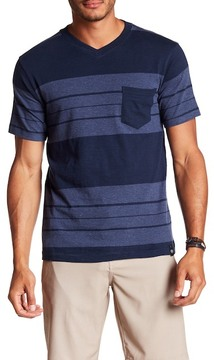 Burnside Short Sleeve Knit Striped Tee