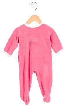 Petit Bateau Girls' Terry Cloth All-In-One