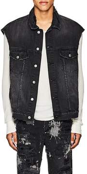 Ksubi Men's Vices Distressed Denim Vest