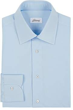 Brioni Men's Poplin Dress Shirt