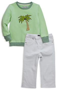 Sovereign Code Boys' Palm Tree Sweatshirt & Jeans Set - Baby