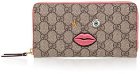 Gucci GG Embroidered Zip Around Wallet - ONE COLOR - STYLE
