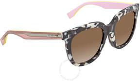 Fendi Marble Pink Sunglasses FF 0185/F/S 0UDL