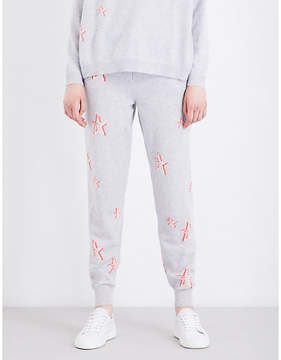 Chinti and Parker 3D Star cashmere jogging bottoms