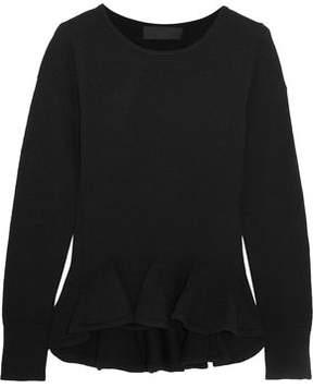 Co Ruffled Wool Sweater