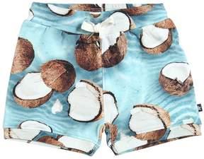 Molo Coconut Printed Cotton Shorts