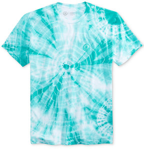 Neff Men's Yeah Bro Bro Tie-Dyed Embroidered-Logo T-Shirt