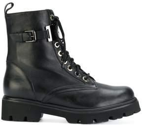 Baldinini lace up military boots