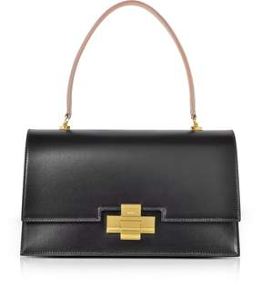 N°21 Black and Nude Leather Alice Satchel Bag