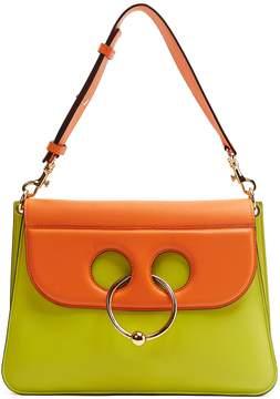 J.W.Anderson Pierce medium bi-colour leather shoulder bag