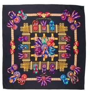 Hermes Les Rubans Du Cheval Silk Scarf