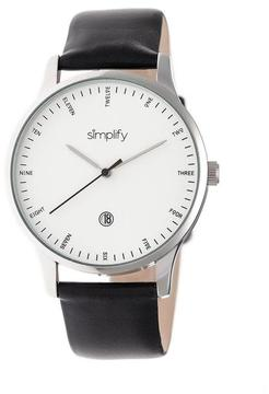 Simplify The 4300 Collection SIM4301 Stainless Steel Analog Watch