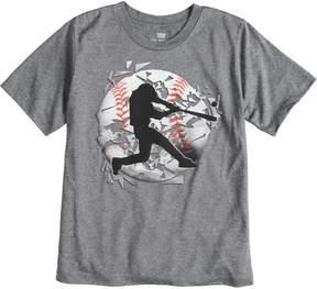 Tek Gear Boys 8-20 Baseball Tee
