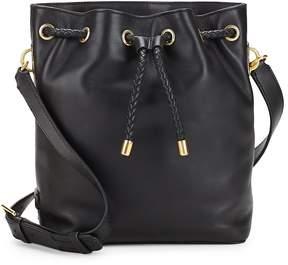 Cole Haan Women's Benson Drawstring Leather Crossbody Bag