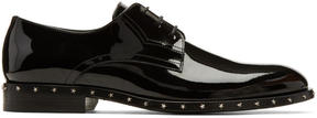 Jimmy Choo Black Patent Axel Derbys