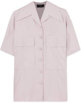 Joseph Dane Silk-poplin Shirt - Lilac