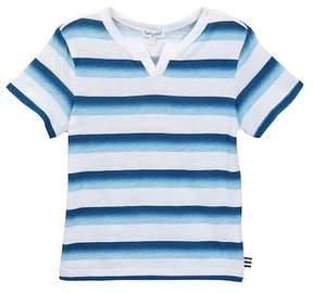 Splendid Ombre Printed Stripe Top (Toddler Boys)
