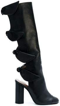 Marco De Vincenzo cut out detail boots