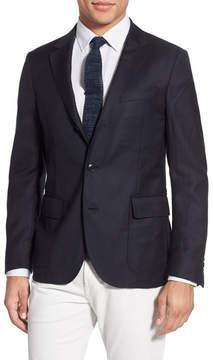 Gant 'Hopsack' Trim Fit Wool Sport Coat