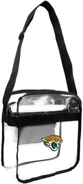 clear Officially Licensed NFL Carryall Crossbody - Jaguars