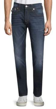 True Religion Straight-Leg Flap-Pocket Jeans
