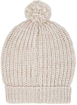 Barneys New York Women's Chunky Rib-Knit Wool-Blend Beanie