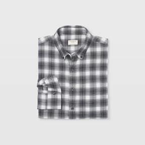 Club Monaco Slim Flannel Plaid Shirt