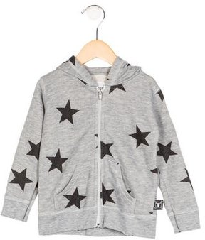 Nununu Boys' Hooded Printed Jacket w/ Tags