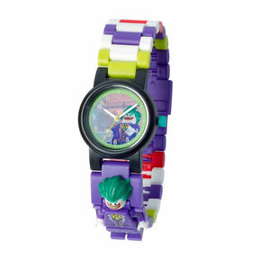 Lego The Batman Movie Batman Boys Multicolor Strap Watch-8020851