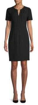 Elie Tahari Lucetta Short-Sleeve Dress