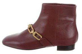Michael Kors Chain-Embellished Ankle Boots