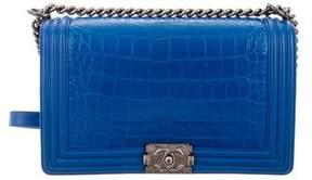 Chanel Crocodile Medium Plus Boy Bag