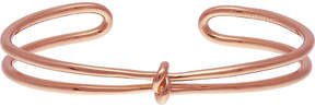 Olivia Burton Knot 18ct rose gold-plated cuff