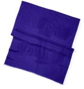Ralph Lauren Cashmere-Silk Scarf Purple One Size