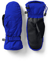 Lands' End Women's Squall Mittens-Electric Blue
