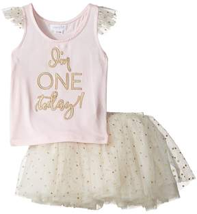 Mud Pie One Tutu Skirt Set Girl's Active Sets