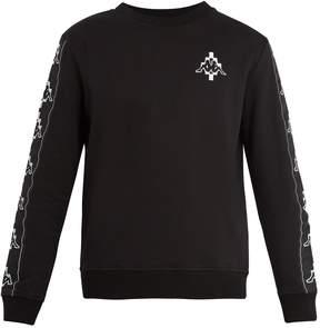 Marcelo Burlon County of Milan Kappa Tapes logo-jacquard cotton-blend sweatshirt