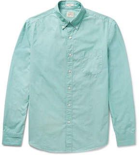 J.Crew Button-Down Collar End-On-End Cotton Shirt