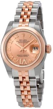 Rolex Lady Datejust Pink Dial Automatic Ladies Jubilee Watch