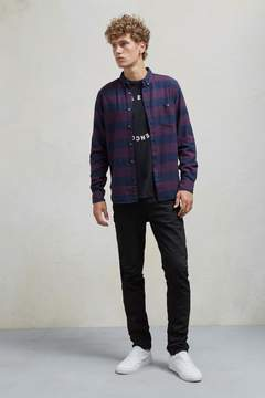 French Connection Classic Flannel Stripe Shirt