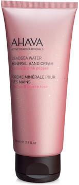 Ahava Mineral Hand Cream - Cactus & Pink Pepper
