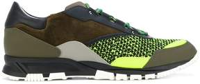 Lanvin contrast sneakers