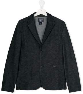 Woolrich Kids TEEN single breasted blazer