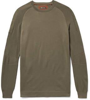 Loro Piana Rain System Wish Virgin Wool Sweater