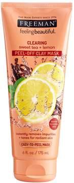 Freeman Sweet Tea & Lemon Peel-Off Clay Clearing Mask
