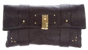 Marc Jacobs Pebbled Clutch - BLACK - STYLE