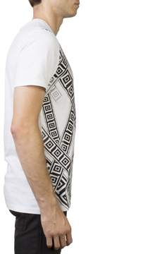 Versace Men's Crew Neck Regular Fit T-Shirt White