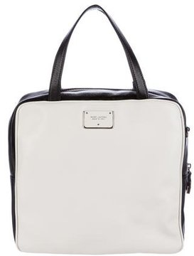 Marc Jacobs Bicolor Leather Satchel - BLACK - STYLE